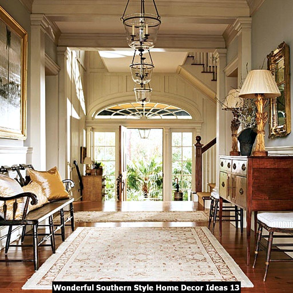 Wonderful Southern Style Home Decor Ideas 13