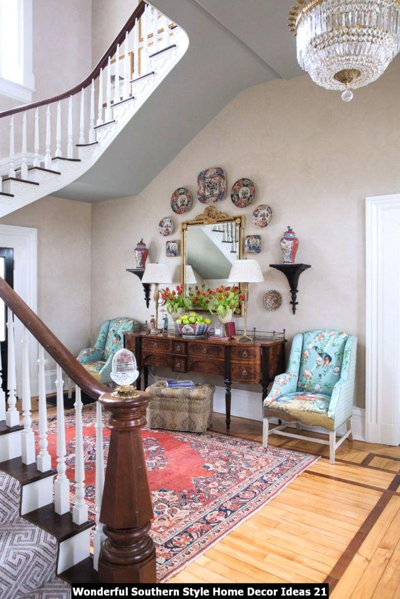 Wonderful Southern Style Home Decor Ideas 21