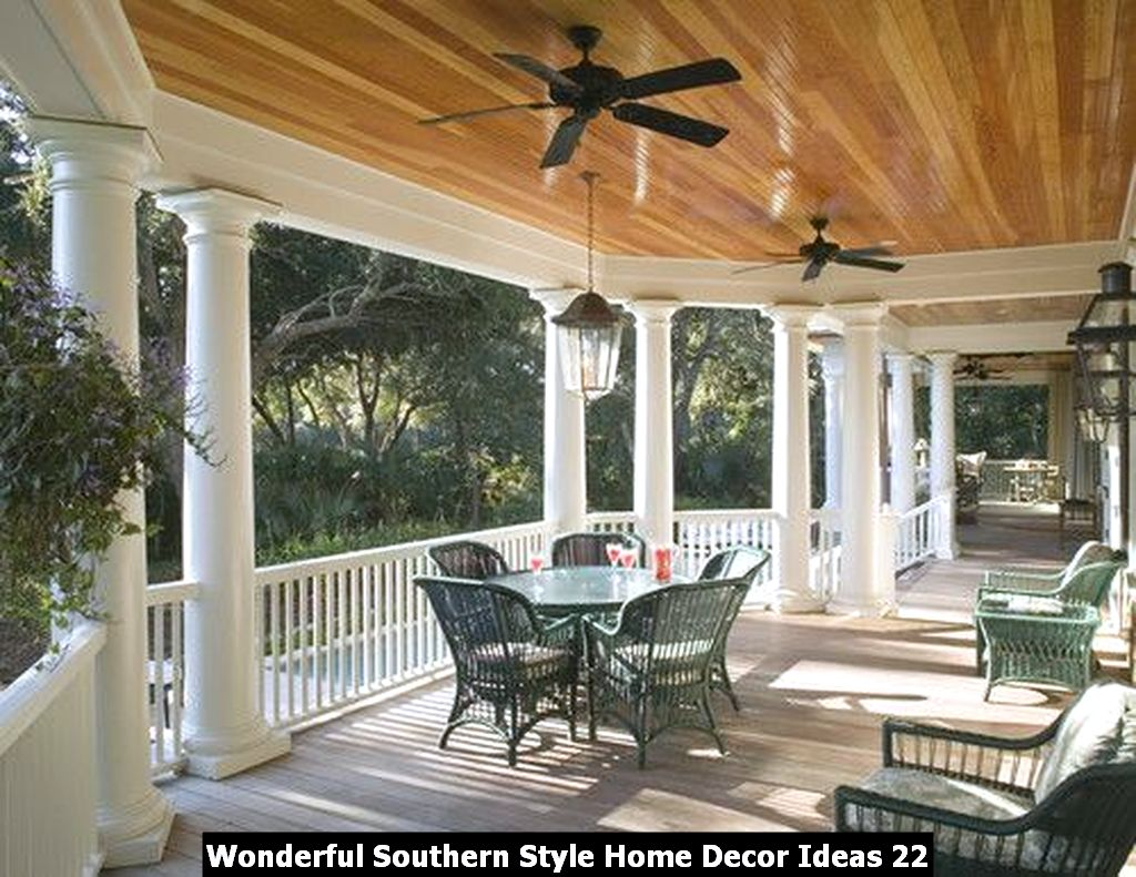 Wonderful Southern Style Home Decor Ideas 22