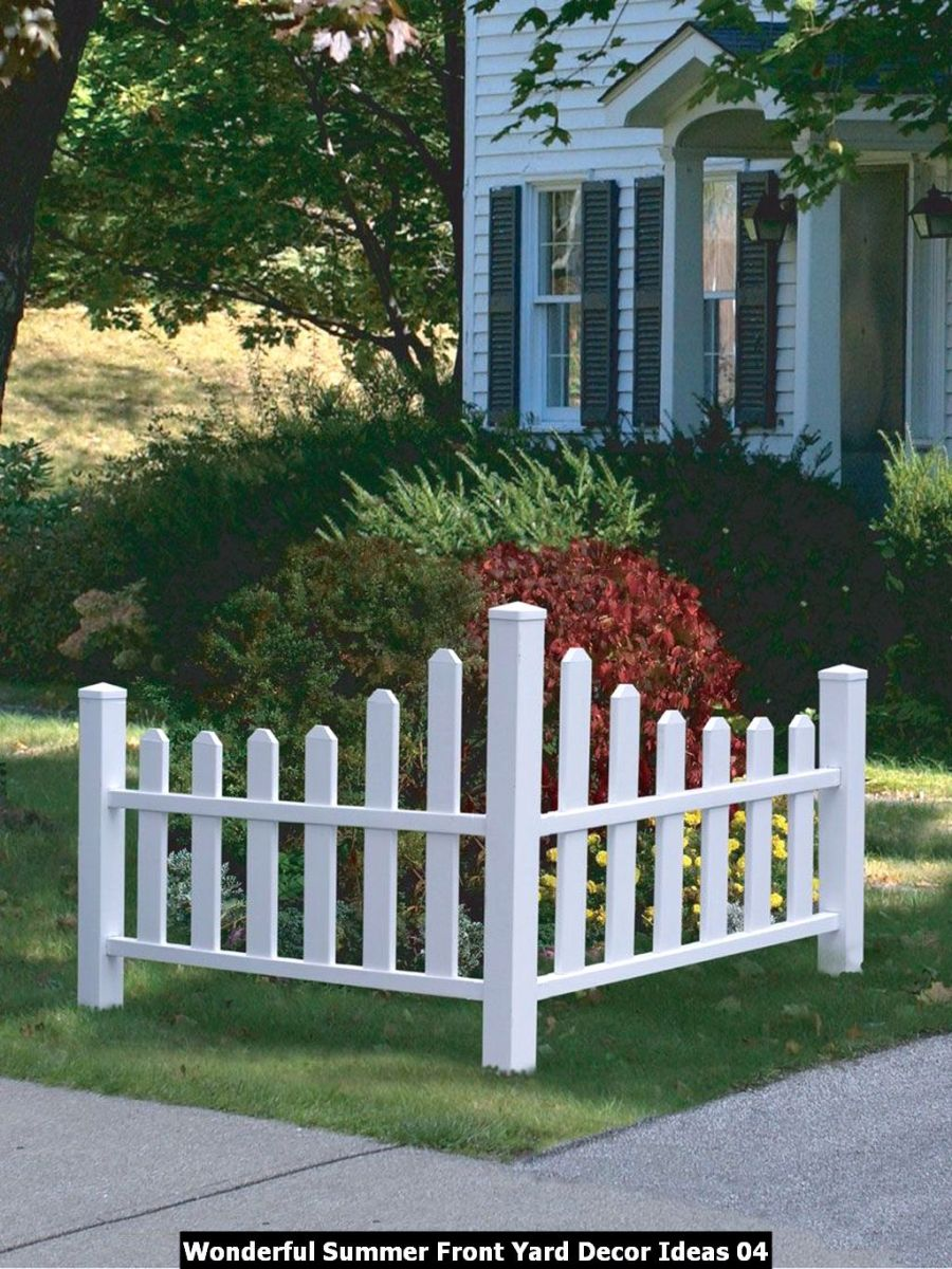 Wonderful Summer Front Yard Decor Ideas 04