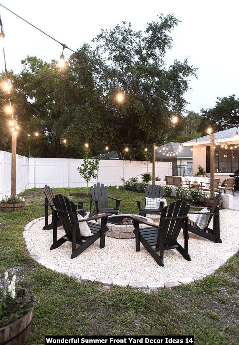 Wonderful Summer Front Yard Decor Ideas 14