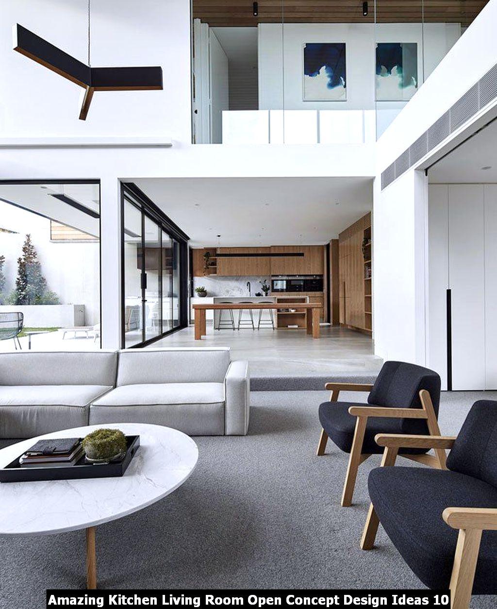 Amazing Kitchen Living Room Open Concept Design Ideas 10