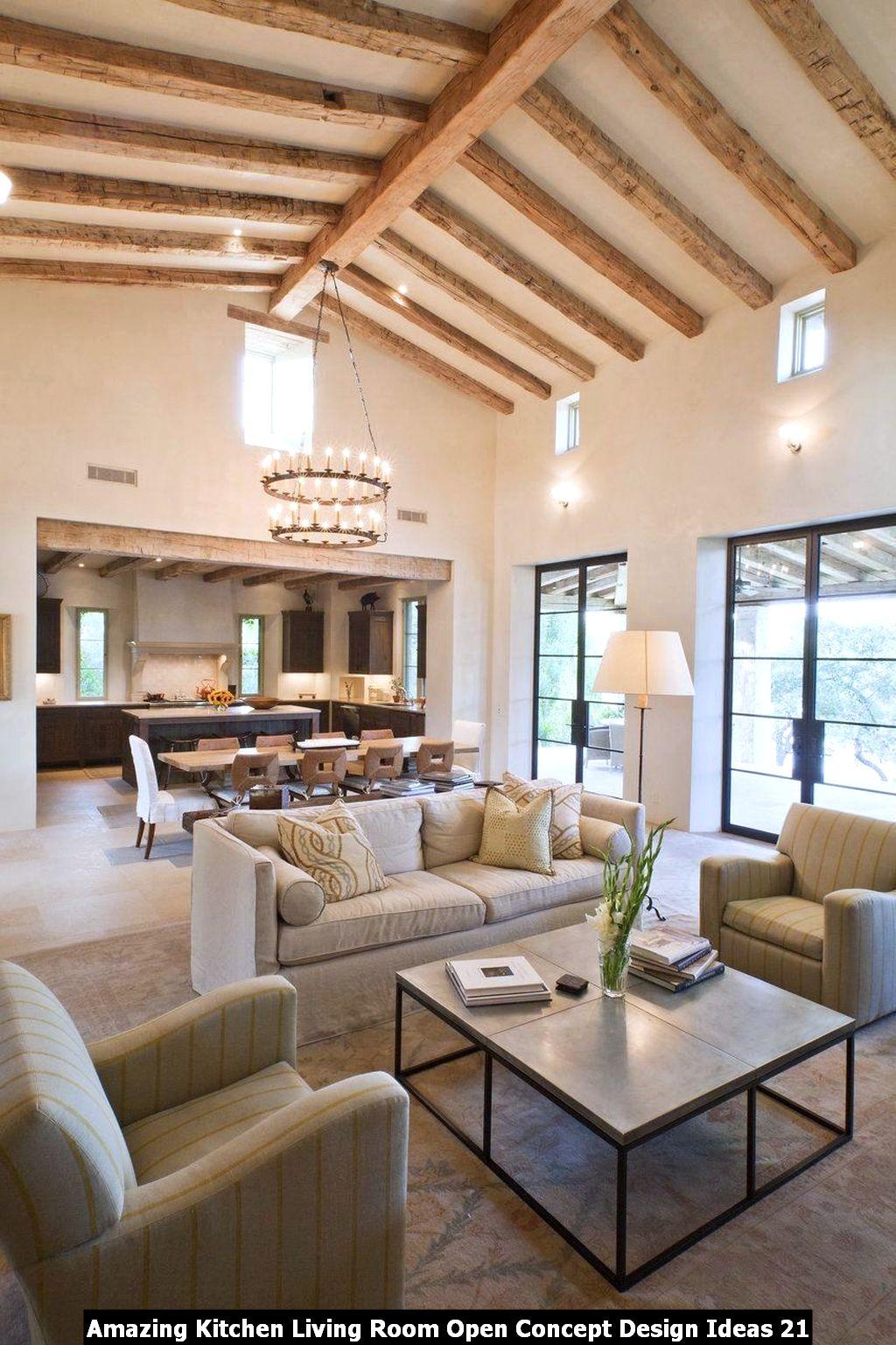 Amazing Kitchen Living Room Open Concept Design Ideas 21