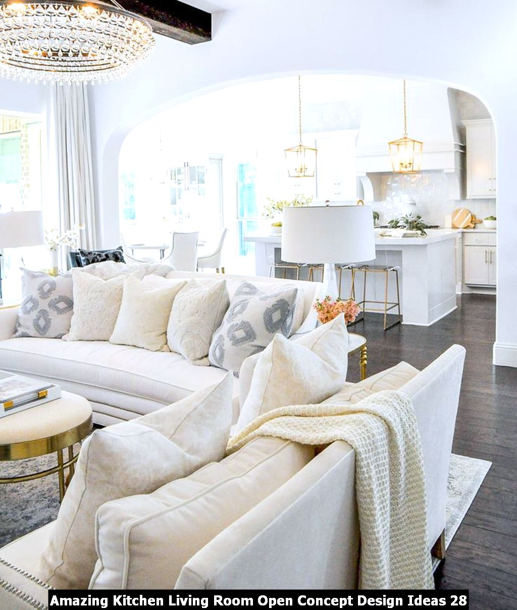 Amazing Kitchen Living Room Open Concept Design Ideas 28