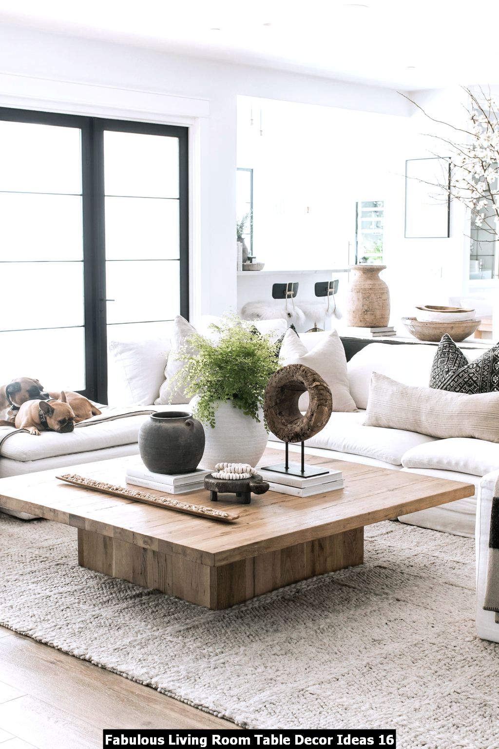 Fabulous Living Room Table Decor Ideas 16
