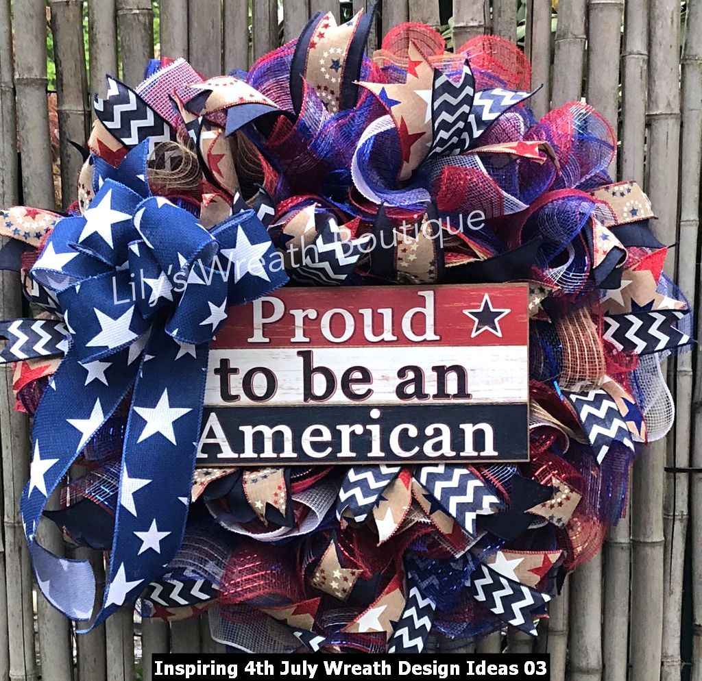 Inspiring 4th July Wreath Design Ideas 03