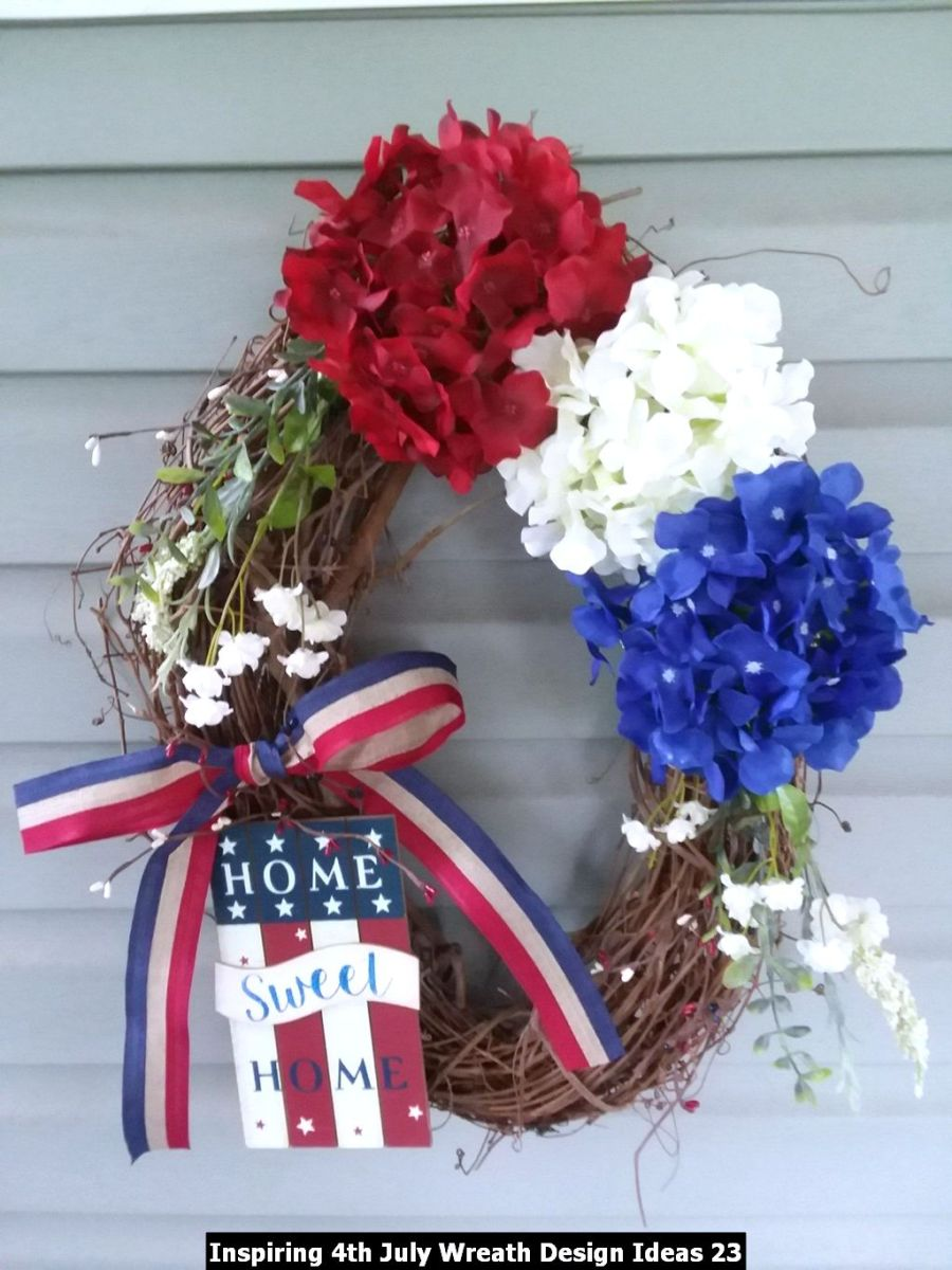 Inspiring 4th July Wreath Design Ideas 23