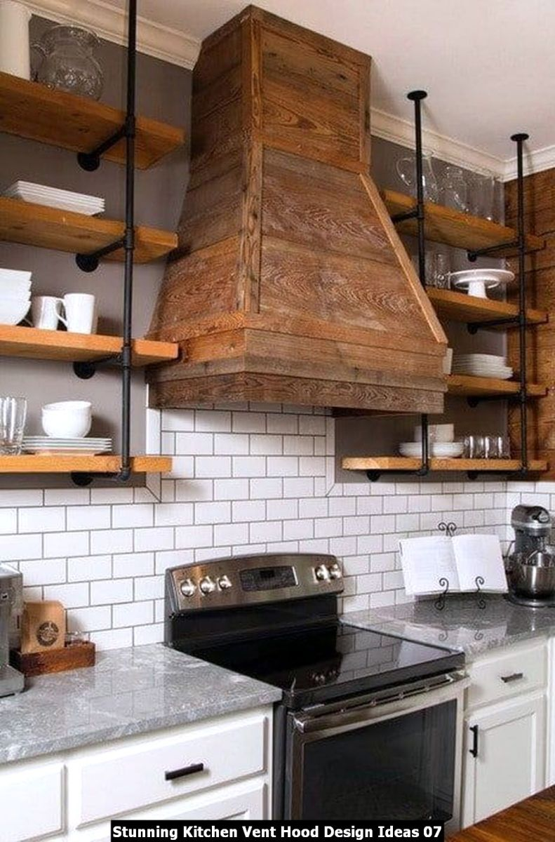 Stunning Kitchen Vent Hood Design Ideas 07