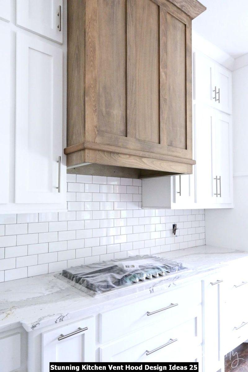 Stunning Kitchen Vent Hood Design Ideas 25