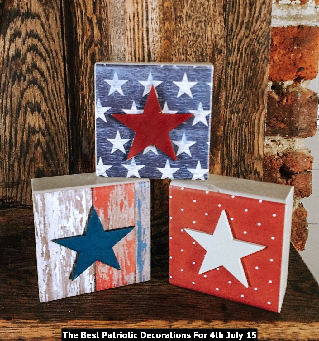 The Best Patriotic Decorations For 4th July 15