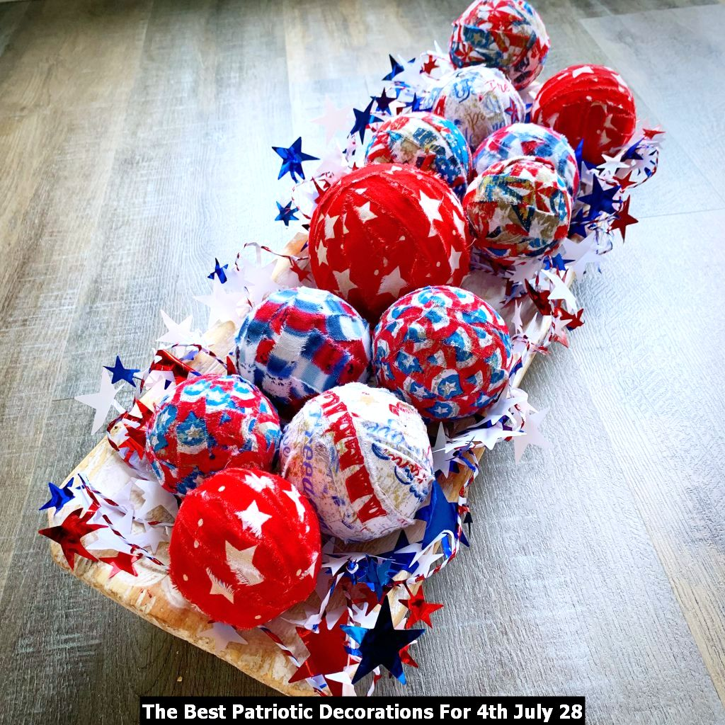 The Best Patriotic Decorations For 4th July 28