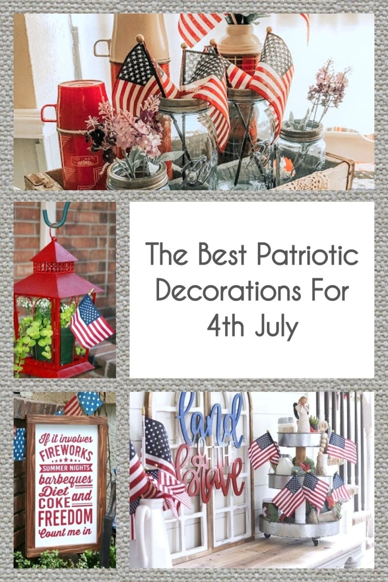 The Best Patriotic Decorations For 4th July