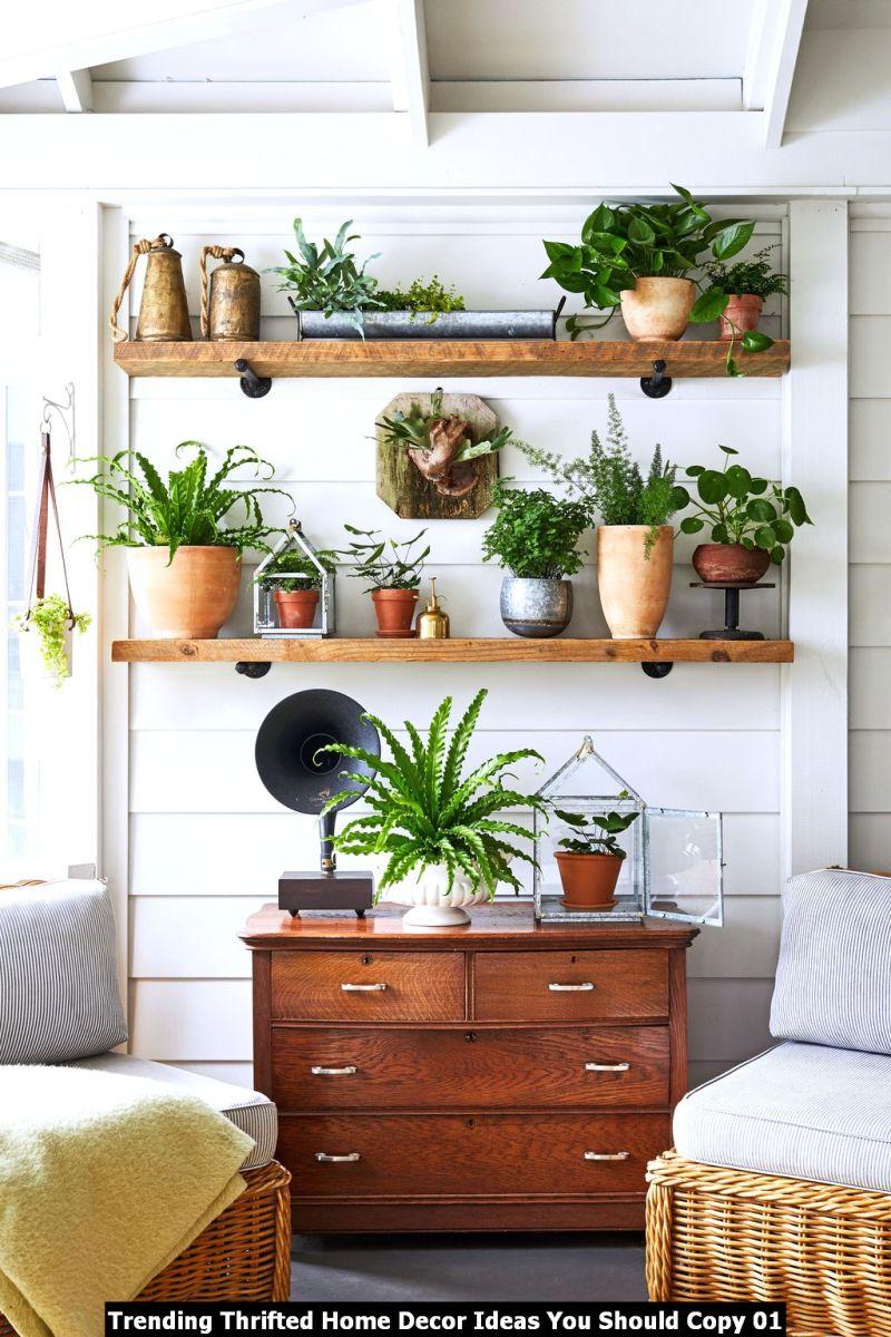 Trending Thrifted Home Decor Ideas You Should Copy 01