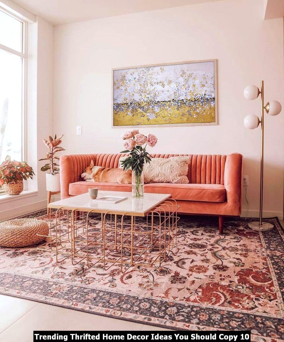 Trending Thrifted Home Decor Ideas You Should Copy 10