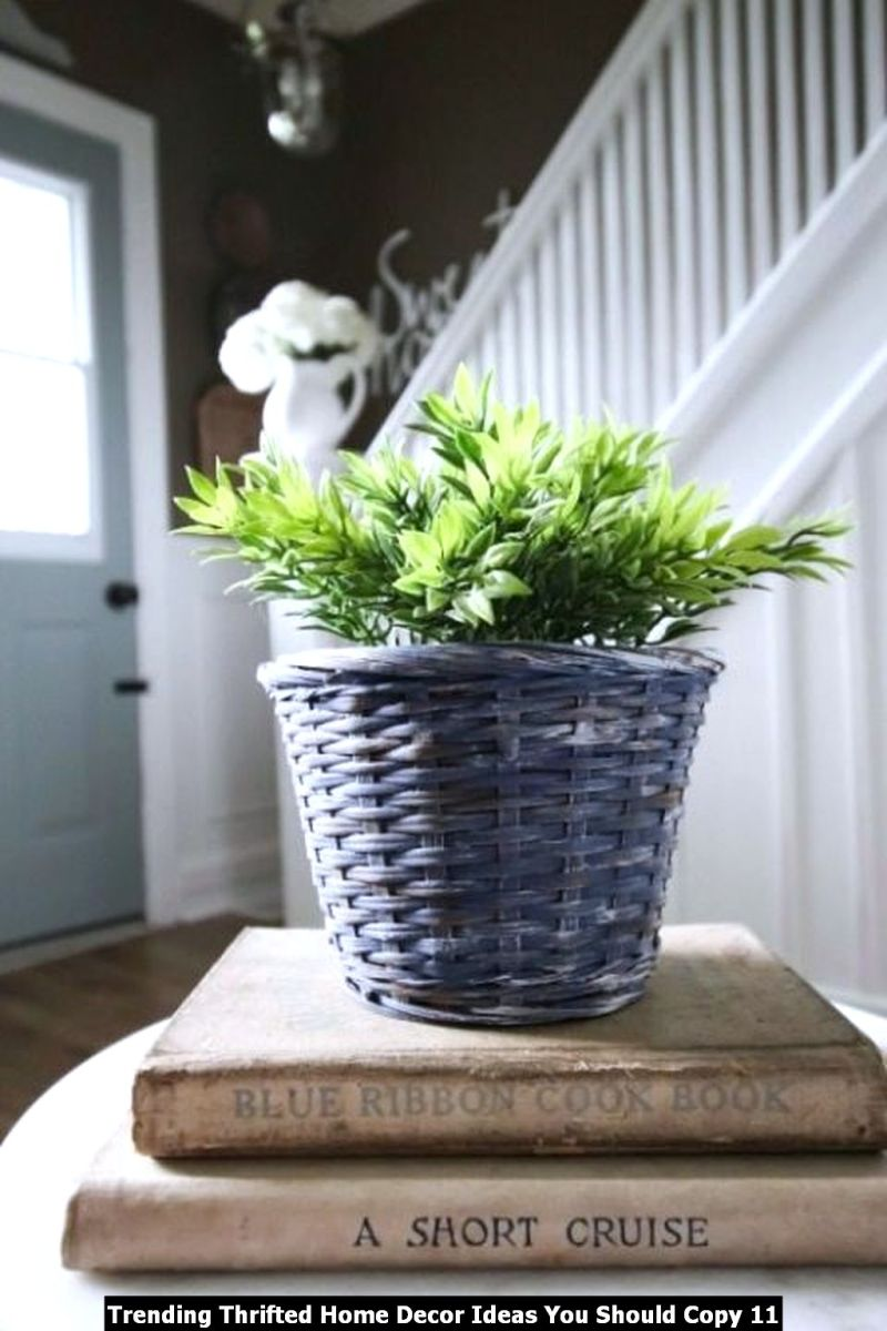 Trending Thrifted Home Decor Ideas You Should Copy 11