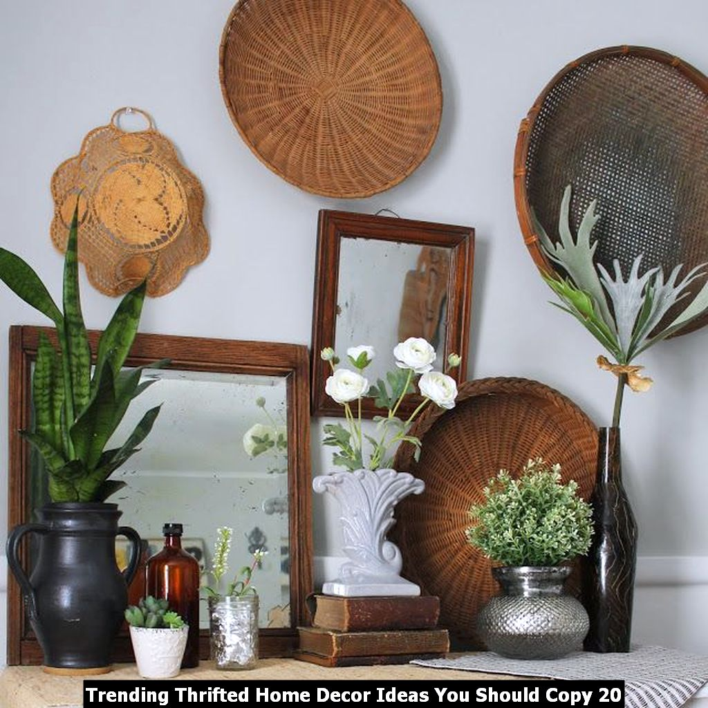 Trending Thrifted Home Decor Ideas You Should Copy 20