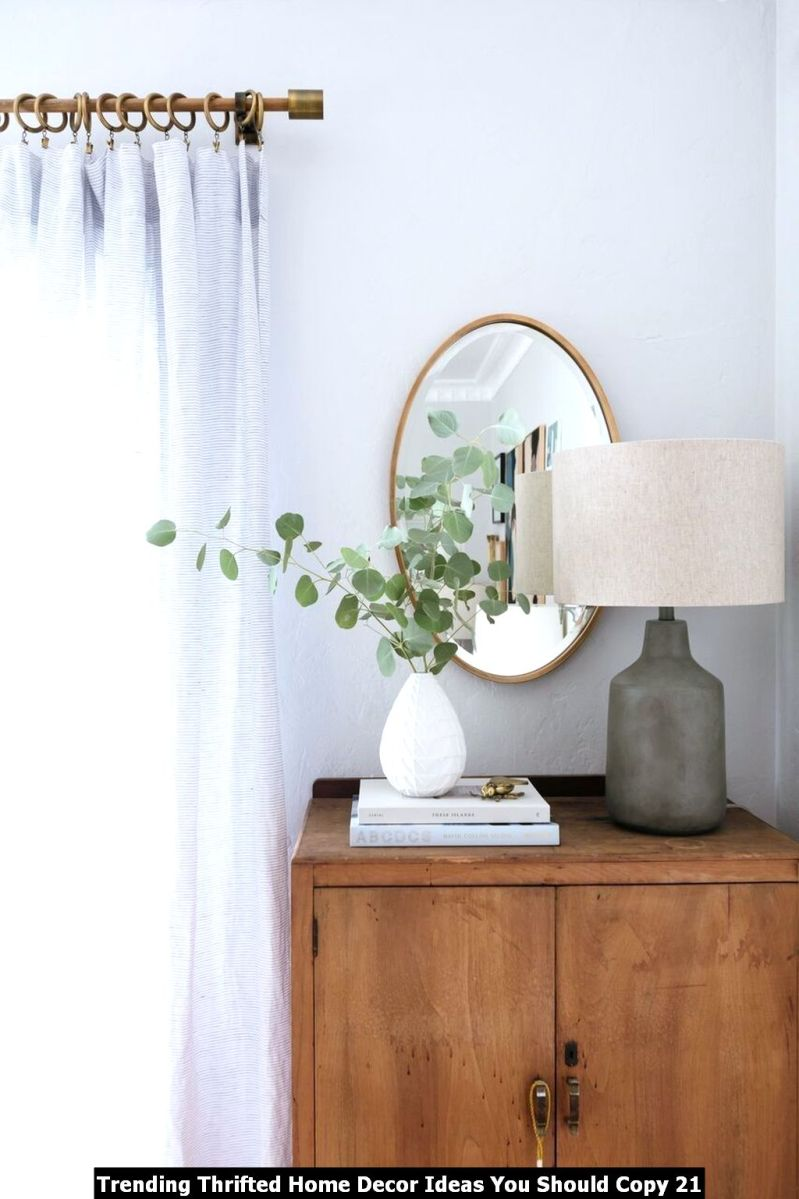 Trending Thrifted Home Decor Ideas You Should Copy 21