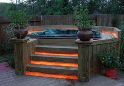 Backyard Hot Tub Designs