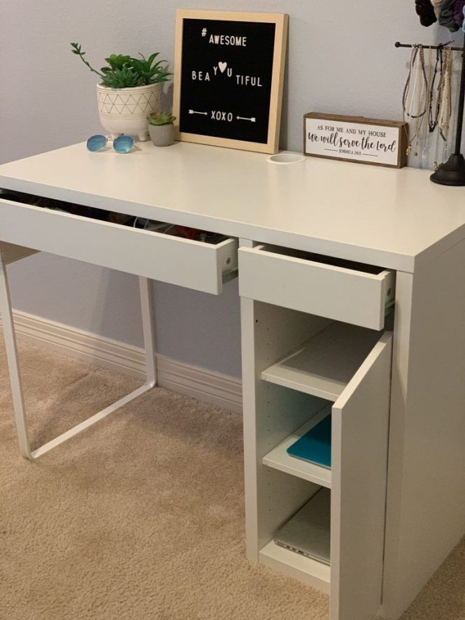 Bedroom Desk With Drawers