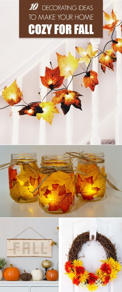 Fall Decorations To Make