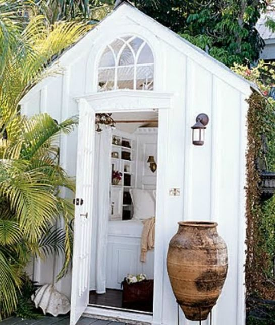 She Shed With Bathroom