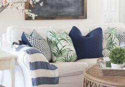 Spring Living Room Decor