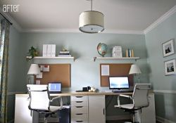 DIY Home Office For Two