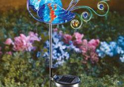Solar Decorative Garden Stakes