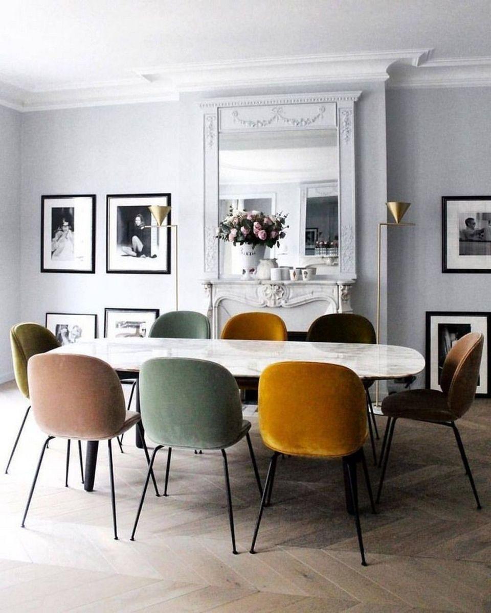 Velvet Dining Room Chairs