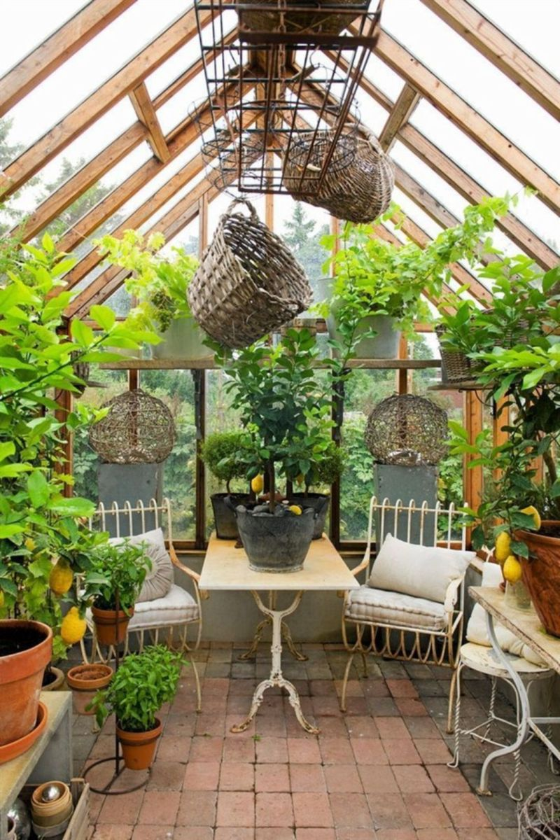 Greenhouse Interior Layout Ideas