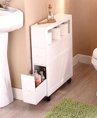 Narrow Bathroom Storage Cabinet