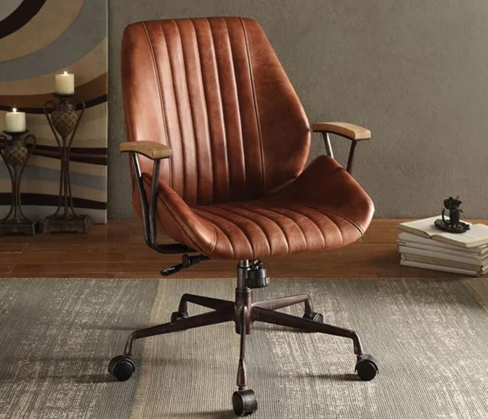 Leather Home Office Chair