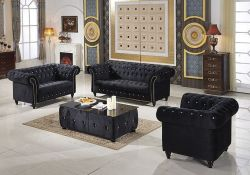 Velvet Living Room Set