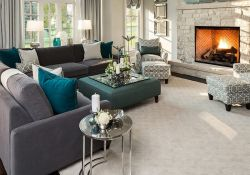 Grey Colour Schemes For Living Rooms