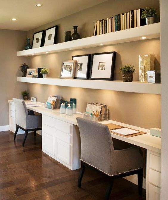In Home Office Ideas