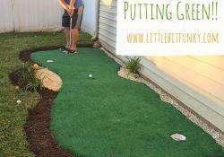Backyard Putting Green Cost