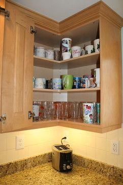 Corner Kitchen Wall Cabinet