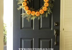 DIY Fall Door Decor