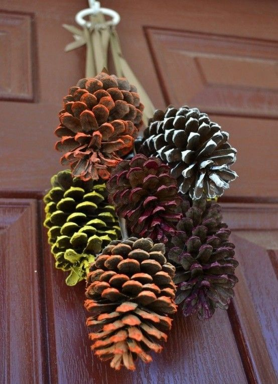 Pine Cone Decorations For Fall