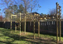 Backyard Ninja Warrior Course
