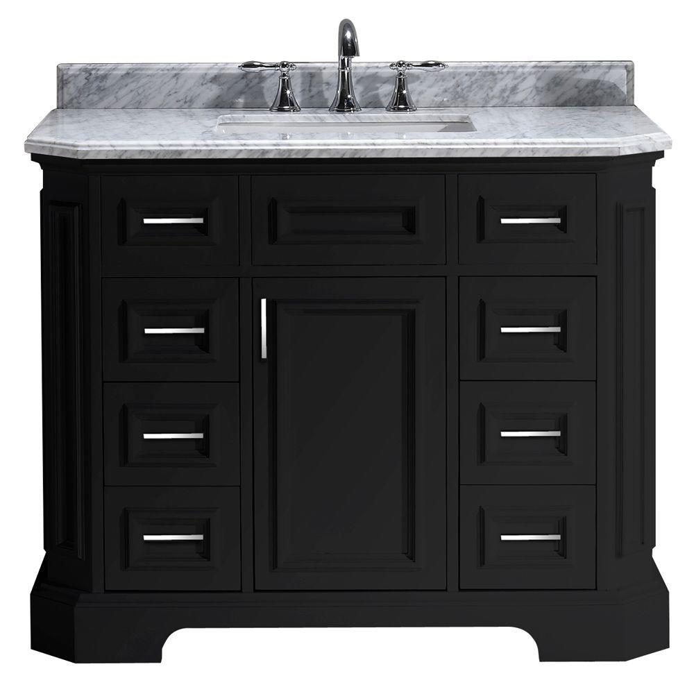 42 Inch Bathroom Vanity With Top