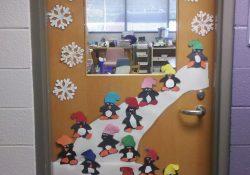 Winter Decoration For Classroom Door