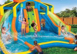 Inflatable Backyard Water Slide
