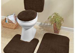 5 Piece Bathroom Rug Sets