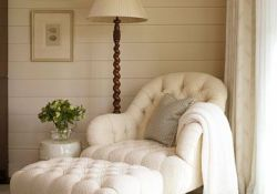 Bedroom Chair With Ottoman