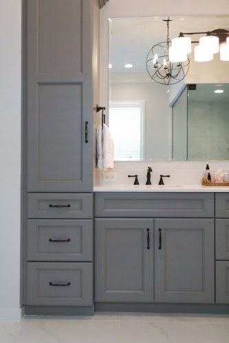 Bathroom Vanity With Tower