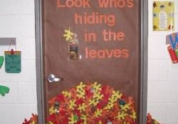 Fall Door Decor Classroom