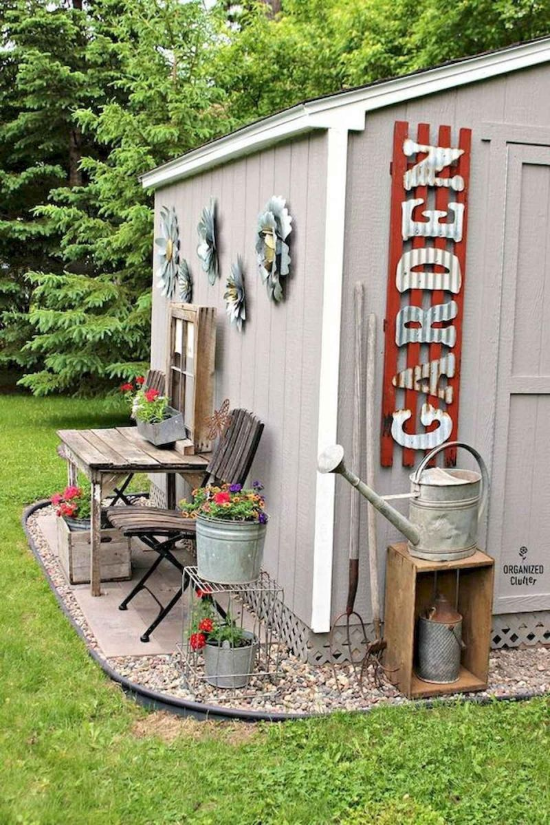 Garden Shed Decorating Ideas