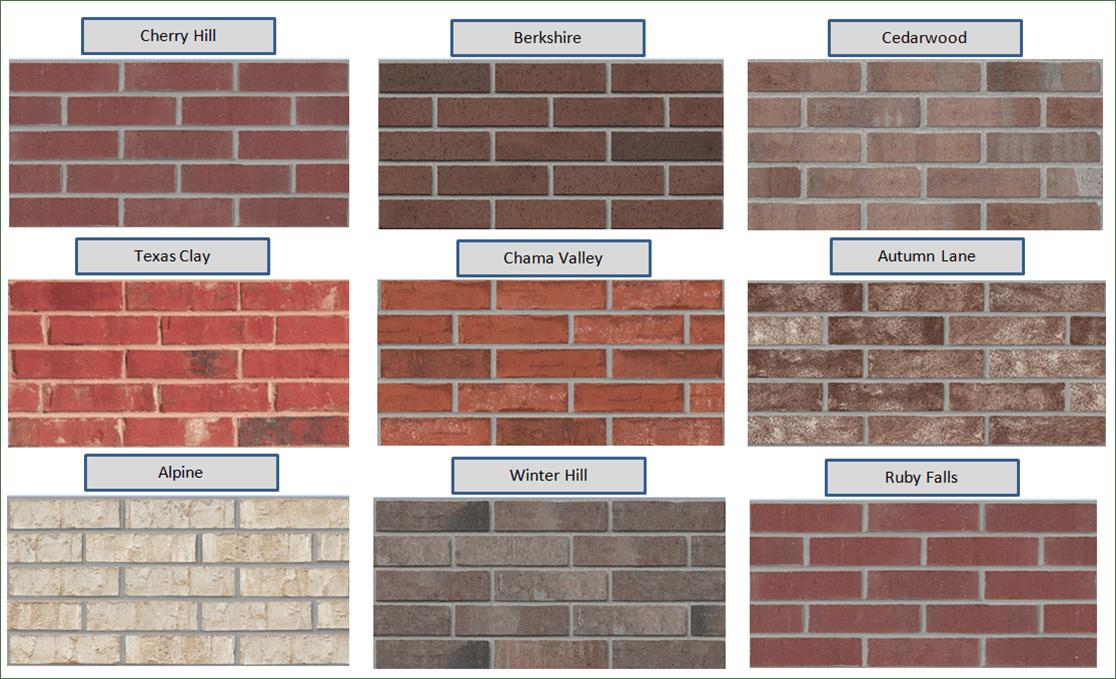 Exterior Brick Paint Color Ideas