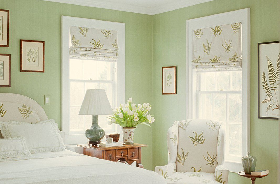 Light Green Bedroom